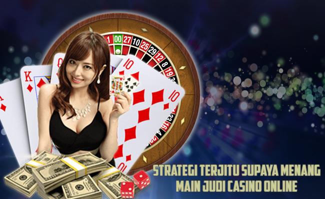 Agen Judi Casino Online Terpercaya dan Terbaik