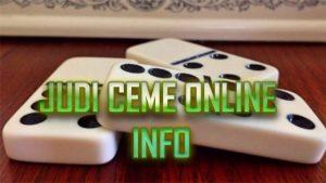 Pendaftaran Ceme Online Terbaru